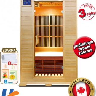 V-Garden Infrasauna DeLuxe 2002 Carbon