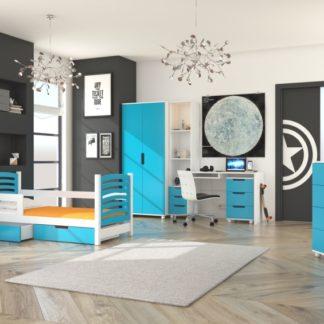 Dětská sestava nábytku modrá Doune