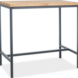 Casarredo Barový stůl METRO dřevo/kov
