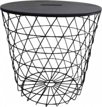 ATAN Košík BATIS TYP 3 - grafit / černá