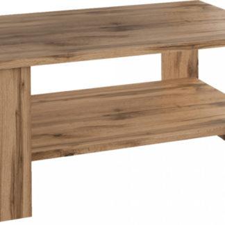Tempo Kondela Konferenční stolek BERNARDO - dub Wotan + kupón KONDELA10 na okamžitou slevu 3% (kupón uplatníte v košíku)