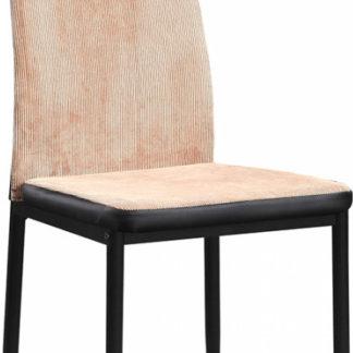 Tempo Kondela Jídelní židle ENRA - světle hnědá/černá + kupón KONDELA10 na okamžitou slevu 3% (kupón uplatníte v košíku)