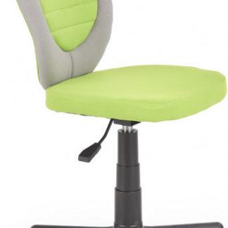 Halmar Dětská židle TOBY - šedá / zelená