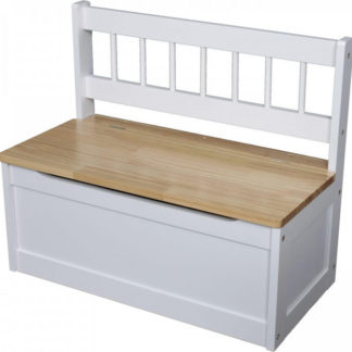Idea Dětská lavice bílá/lak