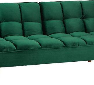 Tempo Kondela  pohovka KAPRERA - smaragdový samet / buk + kupón KONDELA10 na okamžitou slevu % (kupón uplatníte v košíku)