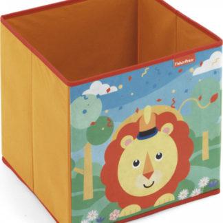 Arditex Úložný box na hračky Fisher Price - Lvíček