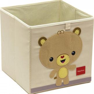 Arditex Úložný box na hračky Fisher Price - Medvěd