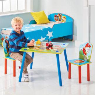 Moose Dětský stůl s židlemi Tlapková Patrola