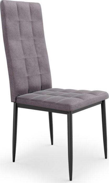 Halmar Jídelní židle K415 - šedá